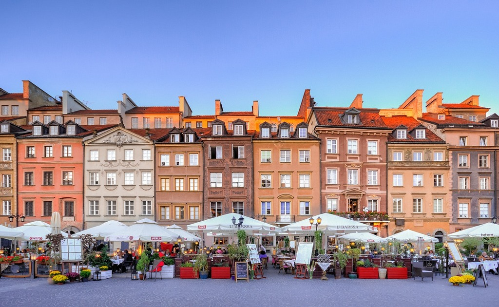 los mejores restaurantes con la comida polaca en varsovia